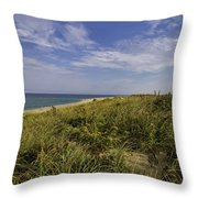Autumn Dune View Throw Pillow