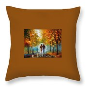 Autumn Elegy Throw Pillow