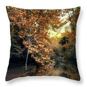 Autumn Enchantment Throw Pillow