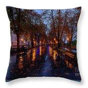 Promenade In Odessa Throw Pillow