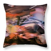 Autumn Fades Throw Pillow