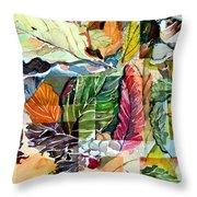 Autumn Falls Throw Pillow