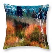 Autumn Feel Throw Pillow