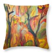 Autumn Feeling Throw Pillow
