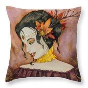 Autumn Finery  Throw Pillow