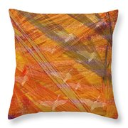 Autumn Flight Throw Pillow by Sydne Archambault
