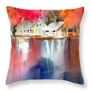 Autumn, Fox River Throw Pillow