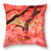 Autumn From Within Throw Pillow
