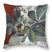 Autumn Fruits Throw Pillow