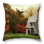 Autumn Grandeur Throw Pillow