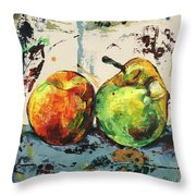 Autumn Harmony Throw Pillow