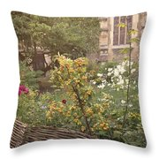 Autumn Haze Throw Pillow