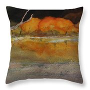 Autumn Hills Throw Pillow
