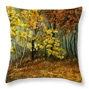 Autumn Hollow II Throw Pillow