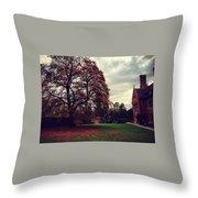 Autumn In Cambridge  Throw Pillow