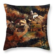 Autumn In Frahan Throw Pillow
