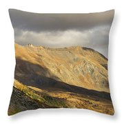 Autumn In French Alps - 5 Throw Pillow