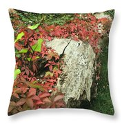 Autumn In Hampstead Throw Pillow
