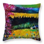 Autumn In Lissoir  Throw Pillow