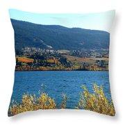 Autumn In Oyama 2 Throw Pillow