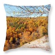 Autumn In Riding Mtn National Park Throw Pillow