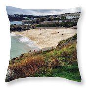 Autumn In St Ives Throw Pillow