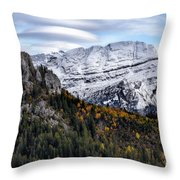 Autumn In Switzerland Throw Pillow