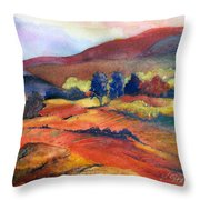 Autumn In The Country Throw Pillow