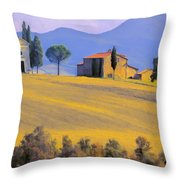 Autumn In Tuscany Throw Pillow