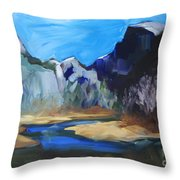Autumn In Yosemite Throw Pillow
