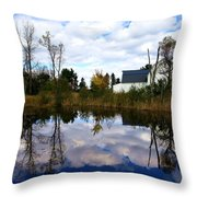 Autumn Is Colorful Throw Pillow