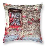 Autumn Ivy Throw Pillow