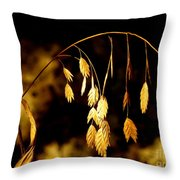 Autumn Jewelery Throw Pillow