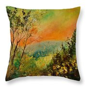 Autumn Landscape 5698 Throw Pillow