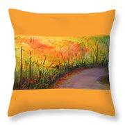 Autumn Lane IIi Throw Pillow