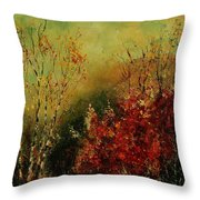 Autumn Lanfscape Throw Pillow