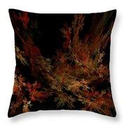 Autumn Leaf Dance Throw Pillow