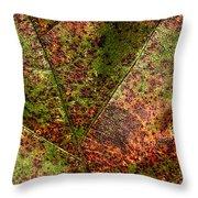 Autumn Leaf Detail Throw Pillow