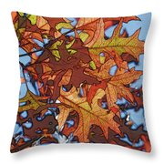 Autumn Leaves 17 - Variation  2 Throw Pillow