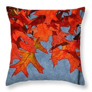 Autumn Leaves 19 Throw Pillow