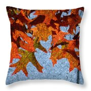 Autumn Leaves 20 Throw Pillow