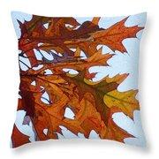 Autumn Leaves 21 Throw Pillow
