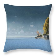 Autumn Lights Throw Pillow