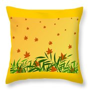 Autumn Love Throw Pillow