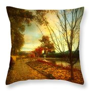 Autumn Magic Throw Pillow