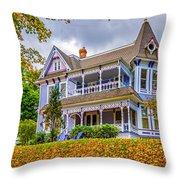 Autumn Mansion Throw Pillow