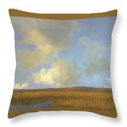 Autumn Marsh Throw Pillow