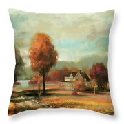 Autumn Memories Throw Pillow