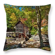 Autumn Mill 2 Throw Pillow