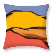 Autumn Mosaic  Throw Pillow